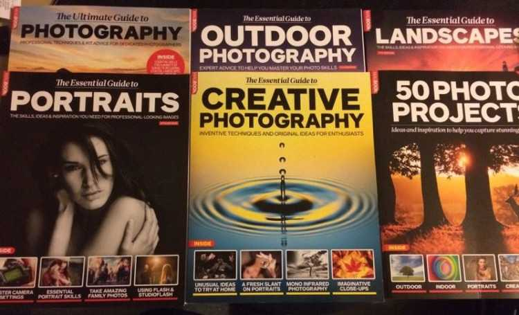Photography Tutorial Books x6 (rrp £60) like new