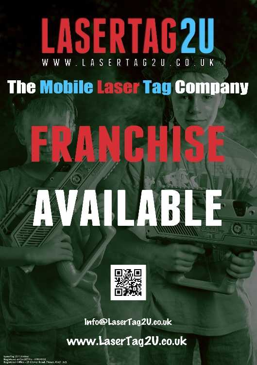 Franchise Laser Tag 2U Limited - Business For Sale