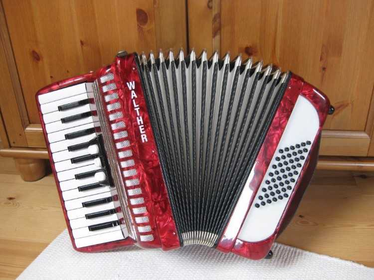 WALTHER TEENY 48 German Accordion