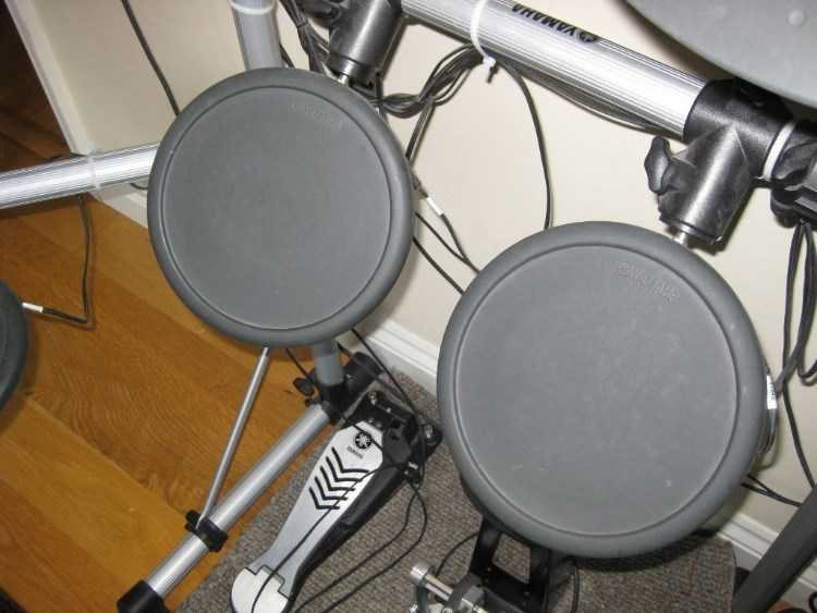 Yamaha DTXplorer complete electronic drum kit with