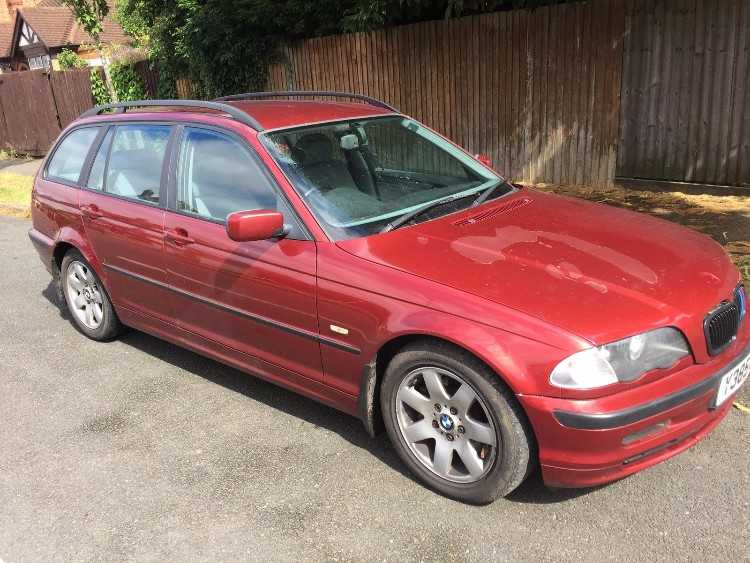2001 BMW 320 Touring 2.2 Petrol Manual Red