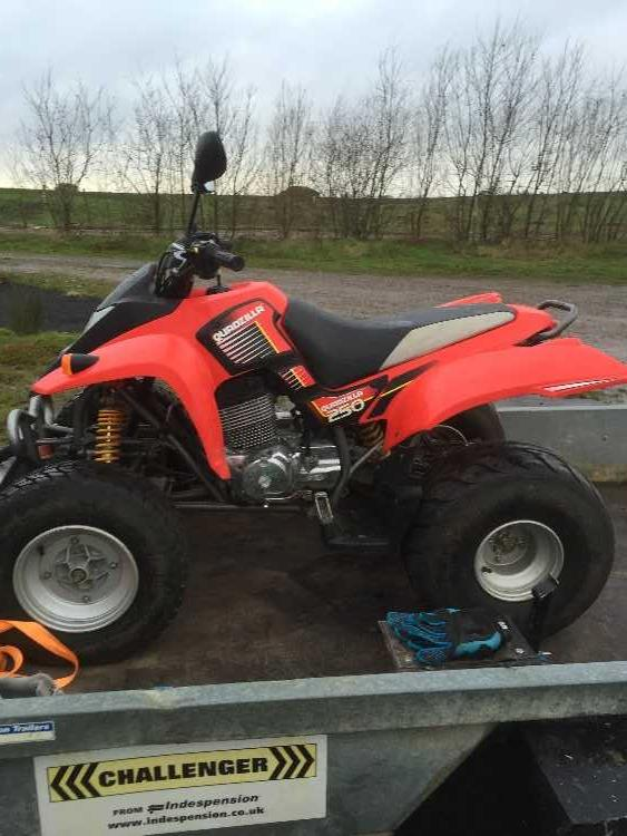 2015 quadzilla 250cc road legal quad
