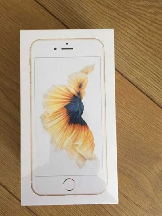 SEALED UNLOCKED ** 16GB GOLD APPLE IPHONE 6S BRAND