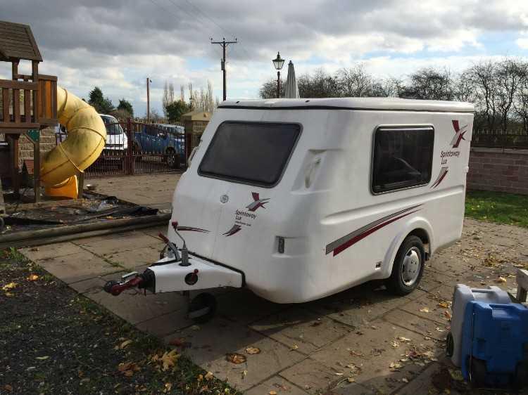 2007 Sprintaway Lux 2 Berth Tiny Teardrop Caravans