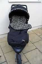 Mothercare extreme travel system, pushchair