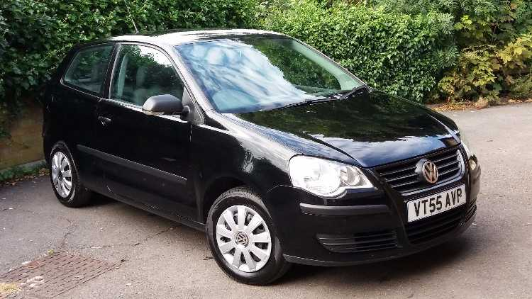 2006 VW POLO 1.2L BLACK MOT  LOW MILEAGE