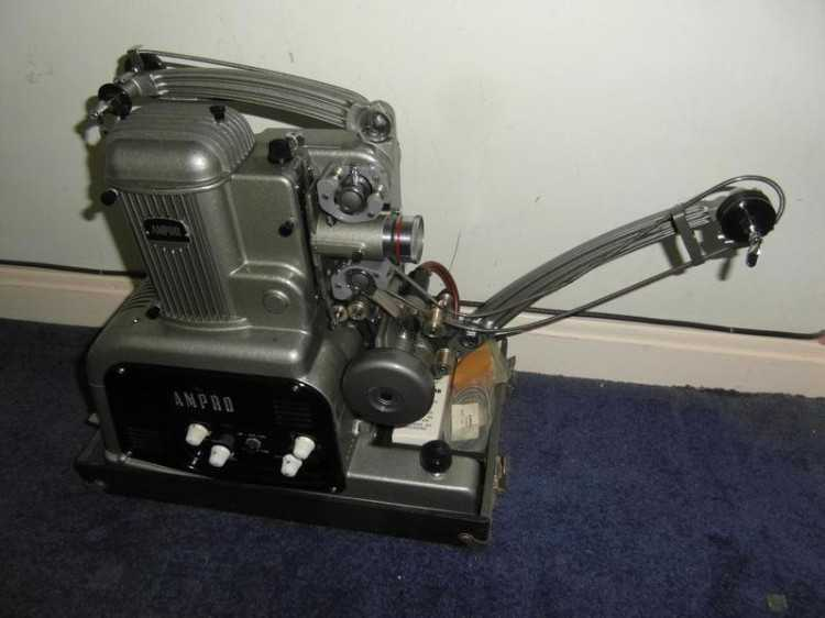Ampro Simplex 16mm Film Projector