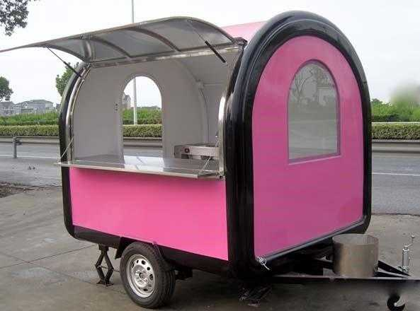 Mobile Catering Kiosk - multipurpose catering trai