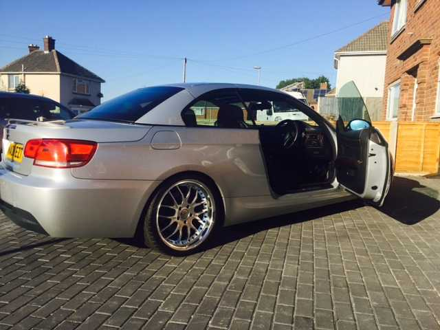 bmw 325 I m sport convertible