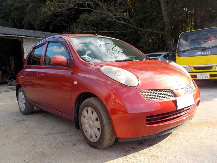 2004 NISSAN MICRA 1.0 5DR PETROL RED AUTOMATIC