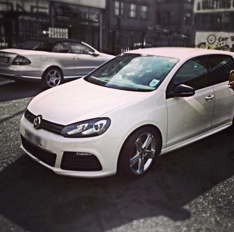 2010 VOLKSWAGEN GOLF R 2.0 DSG DAMAGED UNRECORDED
