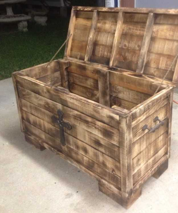 Beautifully Hand Crafted Chest (perfect personalis