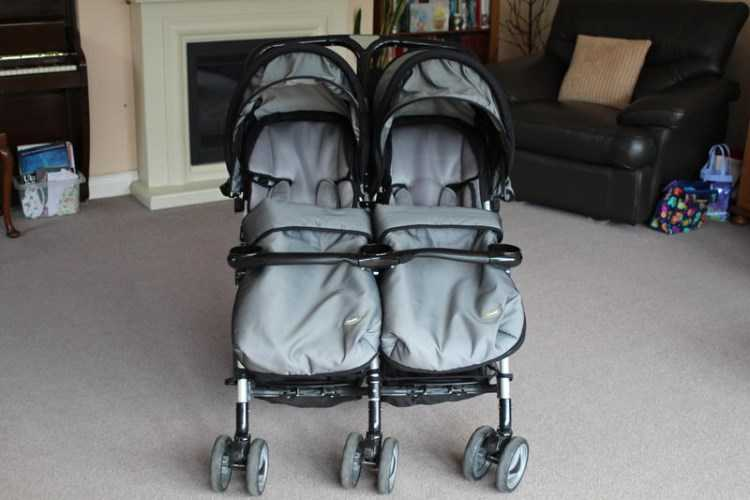 Double Pushchair (cosy toes included)