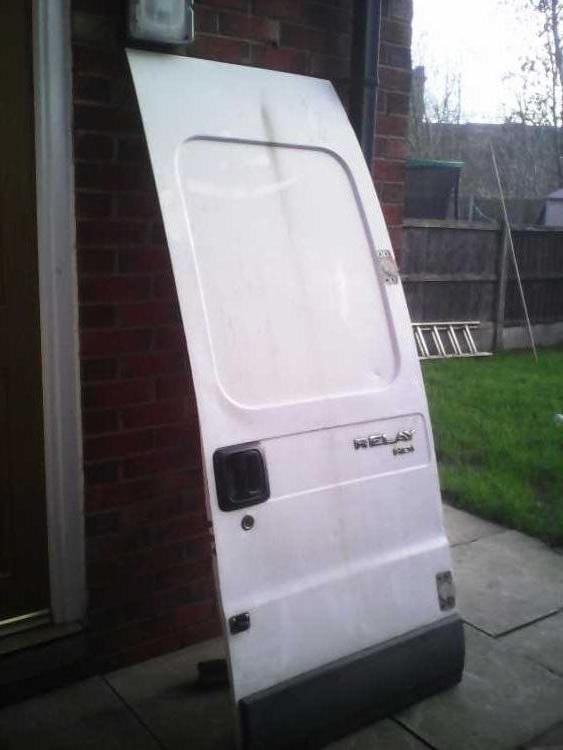 Rear door Citroen relay,fiat ducato,Peugeot boxer