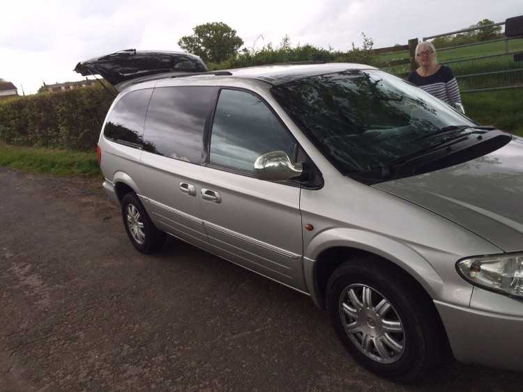 2006 CHRYSLER GRAND VOYAGER LTD AUTO SILVER
