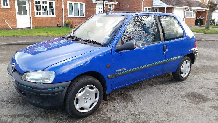 PEUGEOT 106 1.1 , 12 MONTHS M.O.T. . TAXED INSURED