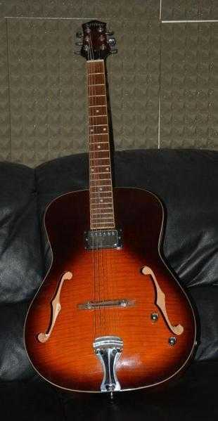 Jazz Guitar = Artisan Guitar for sale , comes with