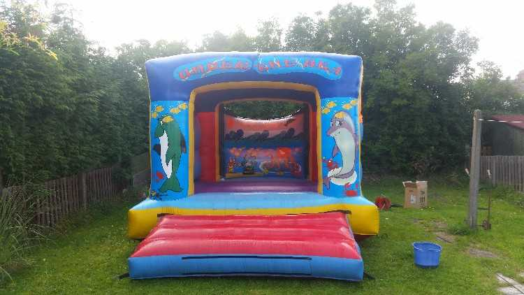 12ft x 12ft bouncy castle hire