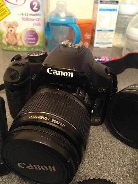 Canon 450d dslr as new