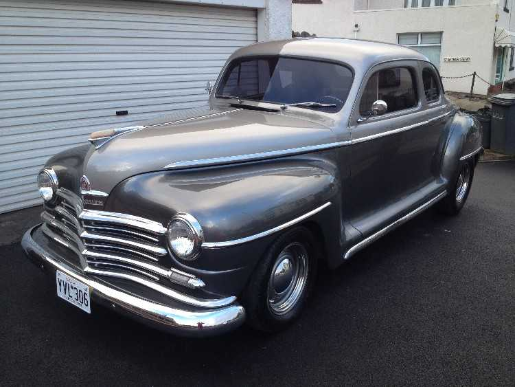 1948 PLYMOUTH BUSINESS COUPE 5.7 V8 AUTO CUSTOM HO