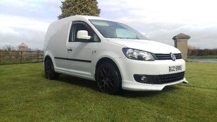 VW Caddy 2.0i 16V LPG 30k miles