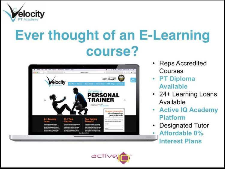 Funded E-Learning Personal Trainer Course (24+ Lea