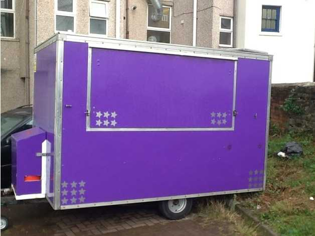 Catering trailer excellent condition