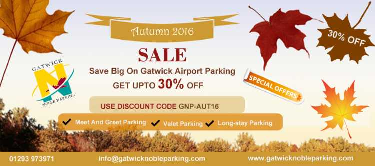Special Offer On Gatwick Meet And Greet parking