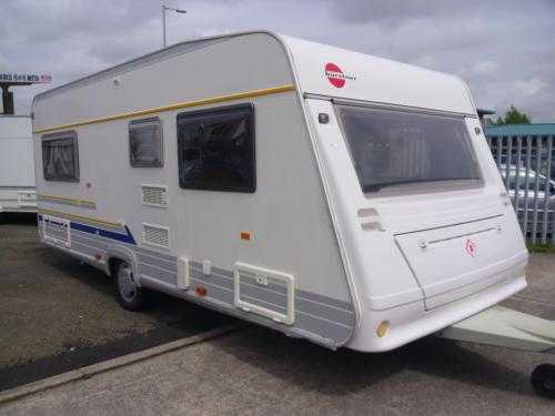 BURSTNER VETANA 500 TS AVANTGARDE 4 BERTH TOURING