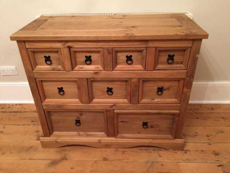 CORONA MEXICAN PINE MERCHANT CHEST