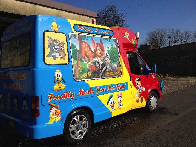 Icecream  van
