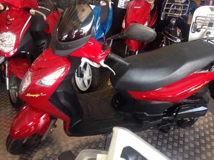 SYM SYMPLY 2 125CC SCOOTER GREAT CONDITION