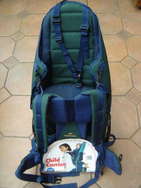 Child backpack carrier