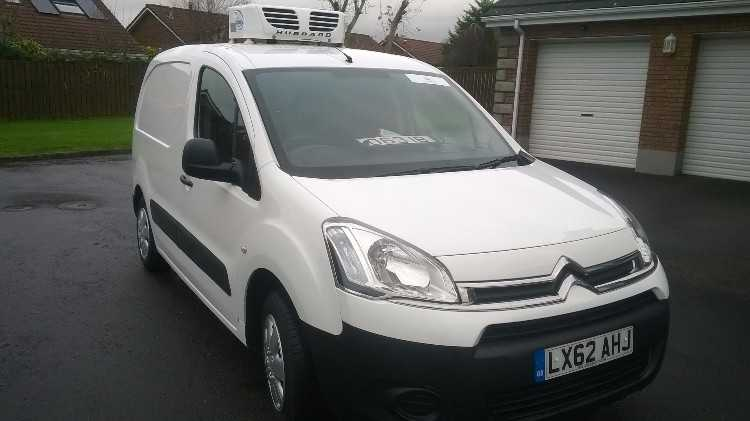 2012 Citroen Berlingo Fridgevan. LPG. Lowmiles