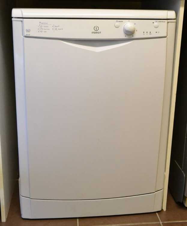 White Indesit Dishwasher , 6 Months Warranty