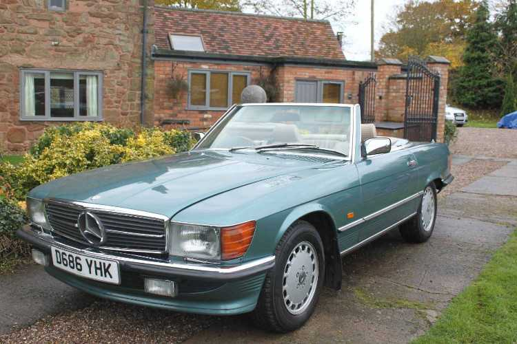 Automatic Mercedes-Benz 420SL R107 V8