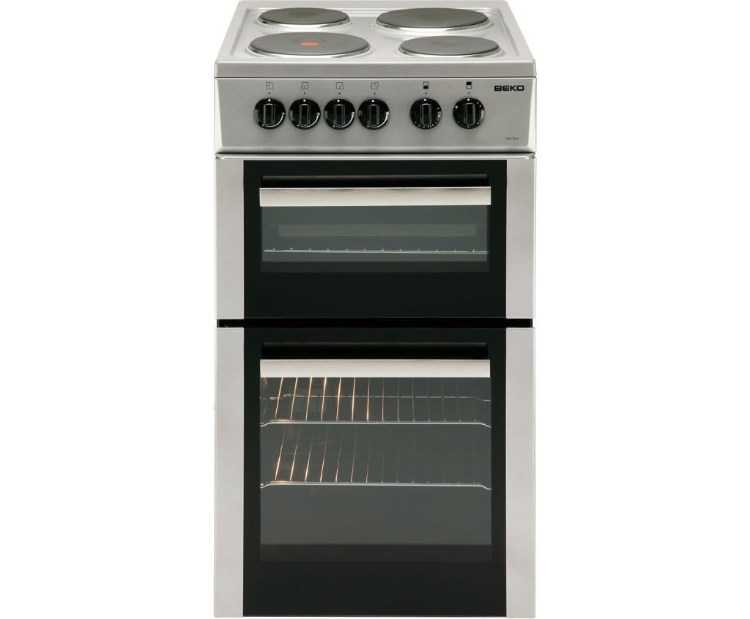 Beko BD532AS Electric Cooker – Silver