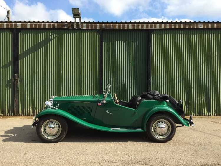 Mg TD 1950 fabulous rebuilt condition 5 speed box