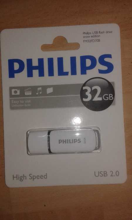 philips 32gb usb flash drive