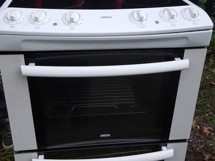 Electric Double Oven Cooker