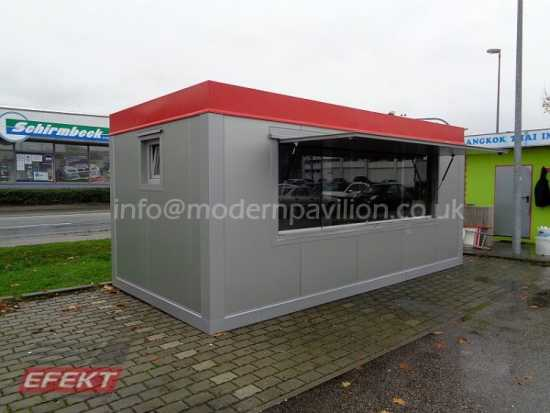 MODULAR BUILDING, PORTABLE CABIN, OFICE, MARKETING