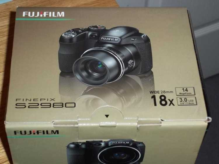Fujifilm Finepix digital camera