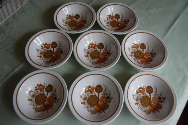 Midwinter 'Countryside' cereal/fruit/pudding bowls