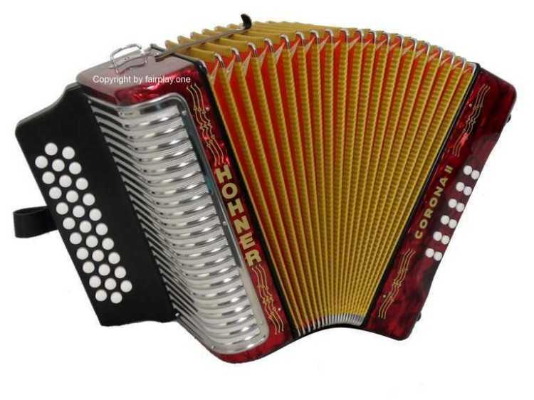Hohner Corona II German Accordion