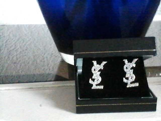 reduced new YSL diamonte earings with gift box