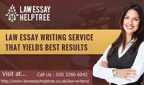 Professional Law Essay Writers