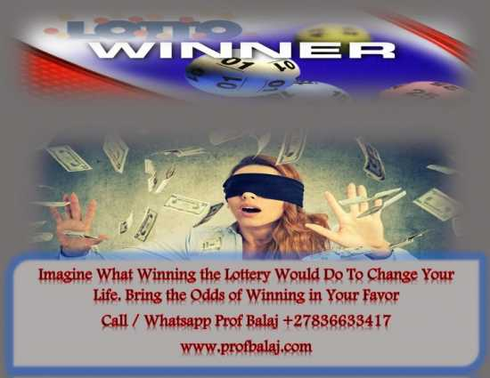 Lottery Spells to Win the Jackpot +27836633417